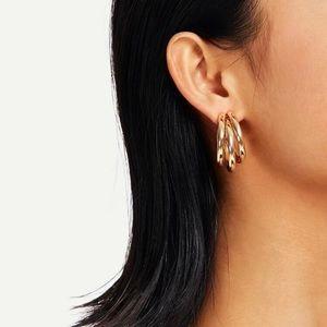 3/$30 💛 Triple Hoop Earrings